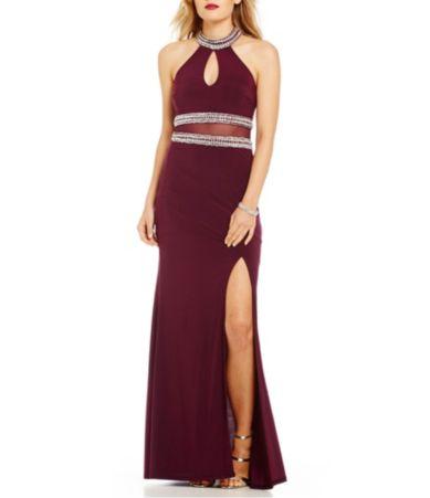 b darlin long dresses retro