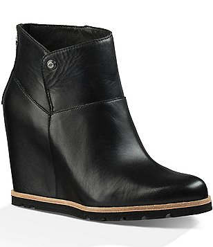 UGG® Amal Wedge Booties