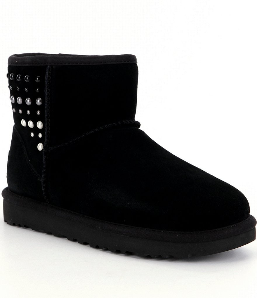 UGG® Classic Mini Pearls Booties