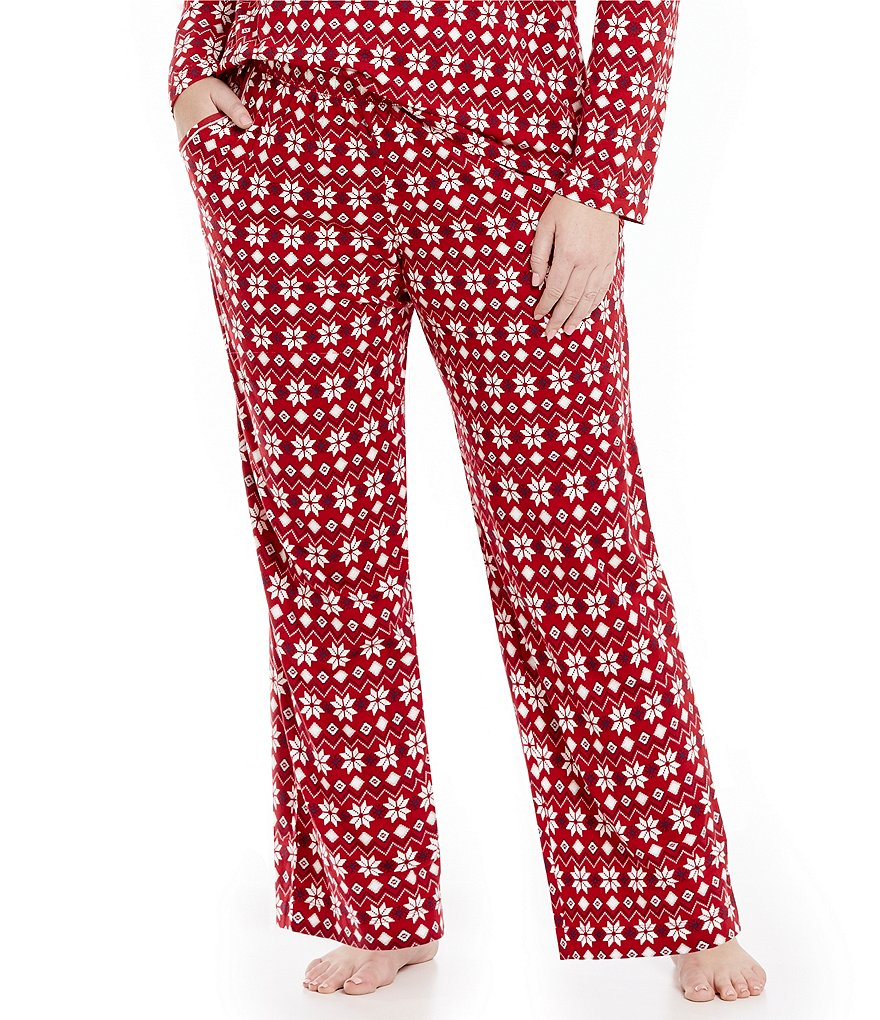 Sleep Sense Plus Snowflake Fair Isle Sleep Pants