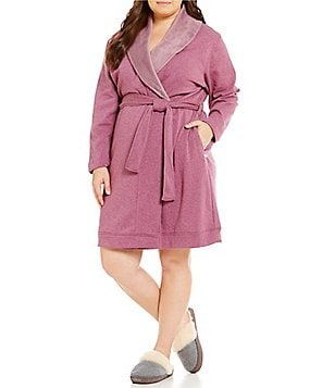 UGG® Plus Blanche Fleece Lounge Robe