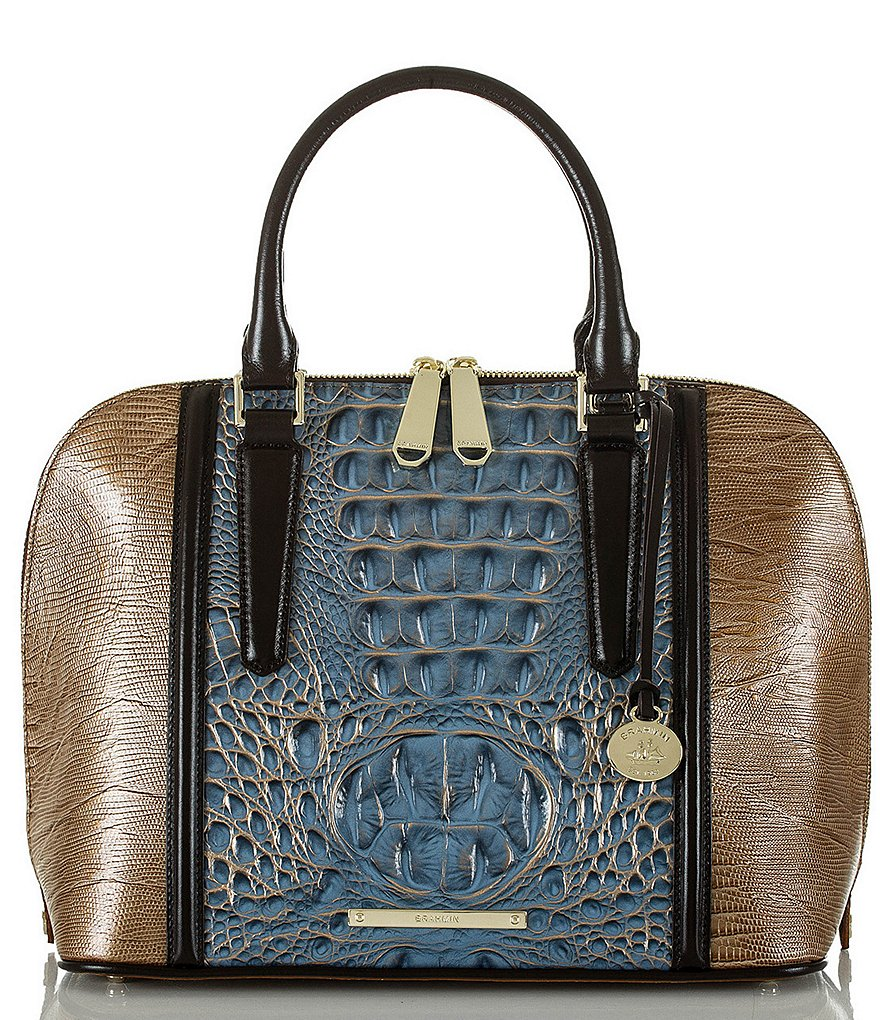 Brahmin Palma Collection Vivian Satchel