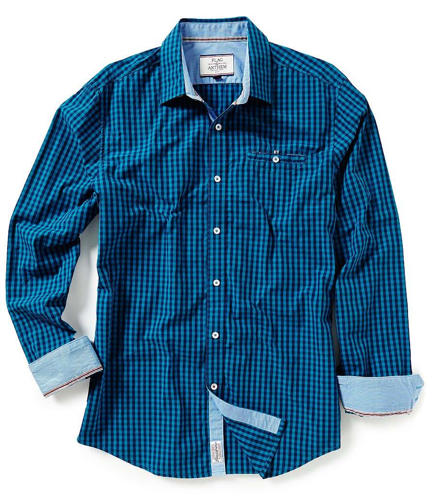 Flag & Anthem Barton Plaid Sportshirt