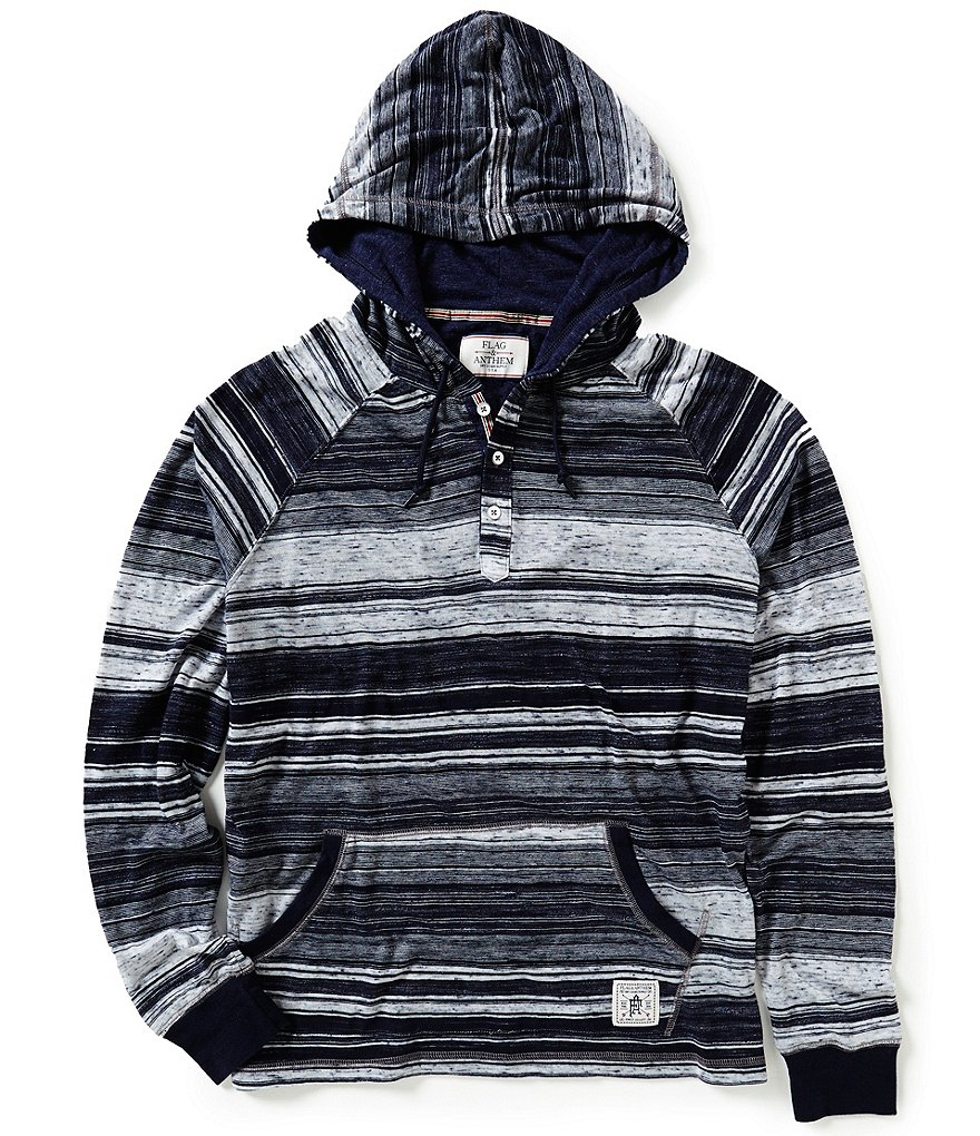 Flag & Anthem Poolesville Horizontal-Striped Hoodie