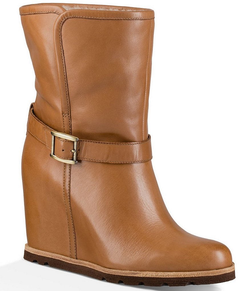 UGG® Ellecia Wedge Booties