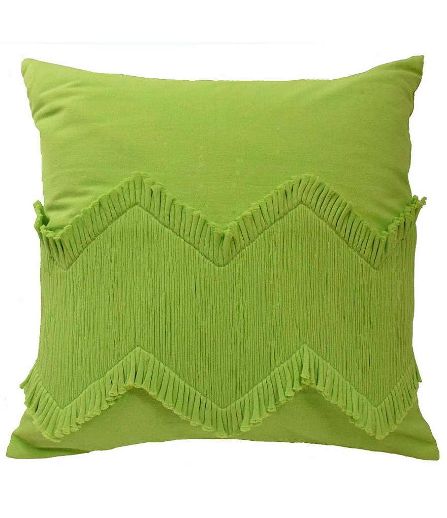 Blissliving HOME Mexico City Collection Puebla Wave Chevron Pillow