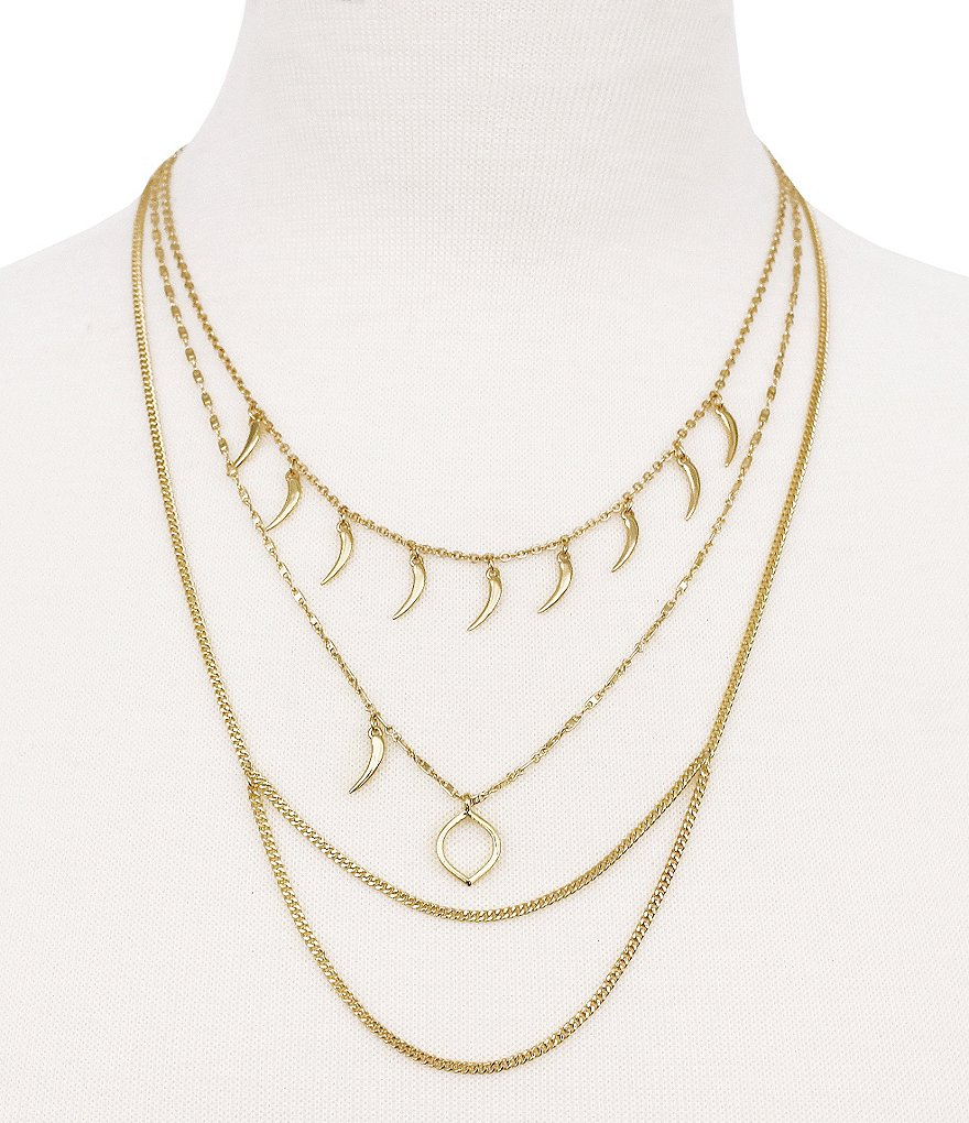 Vince Camuto Curve Appeal Multi-Strand Necklace