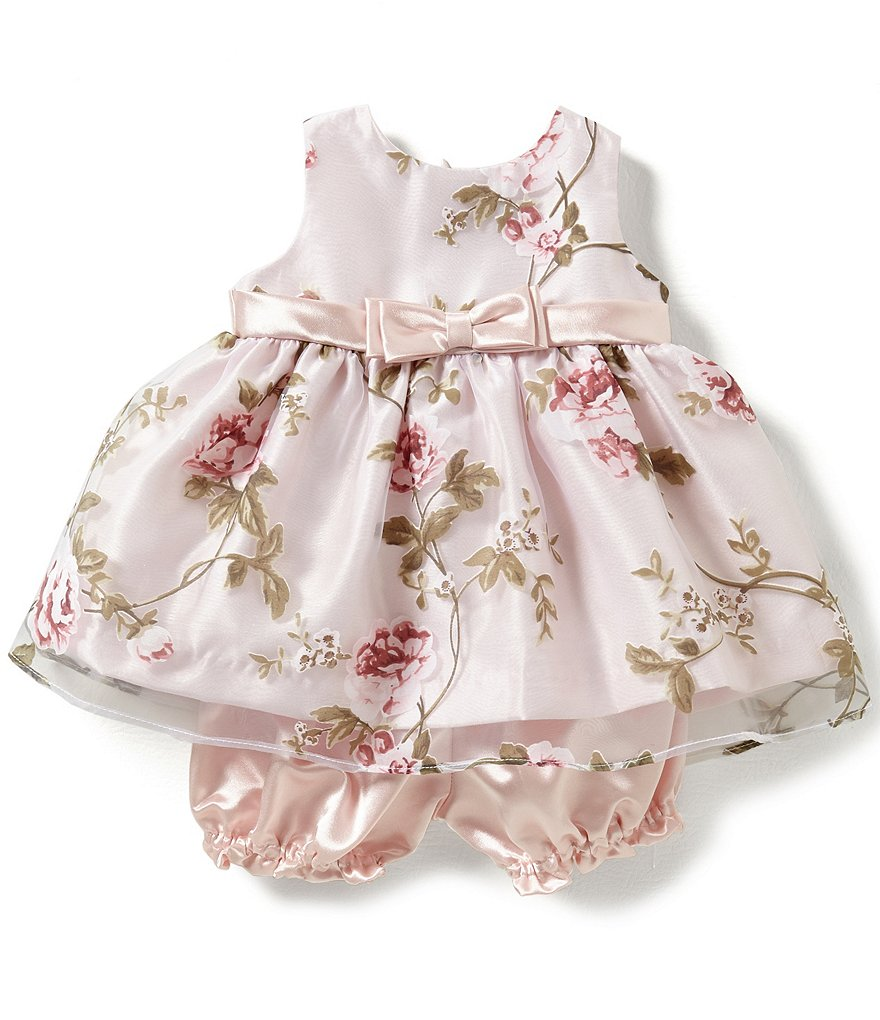 Jayne Copeland Baby Girls 3-24 Months Floral Overlay Dress