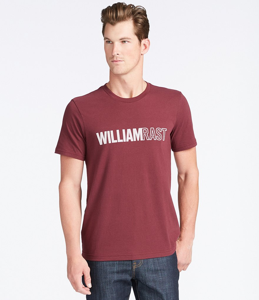 William Rast Logo Graphic Short-Sleeve Tee