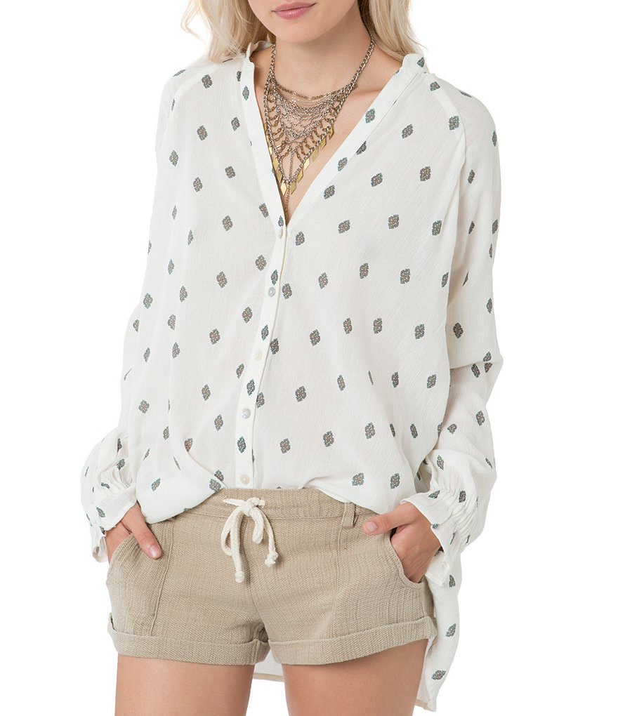 O´Neill Madri Printed Button Down Top