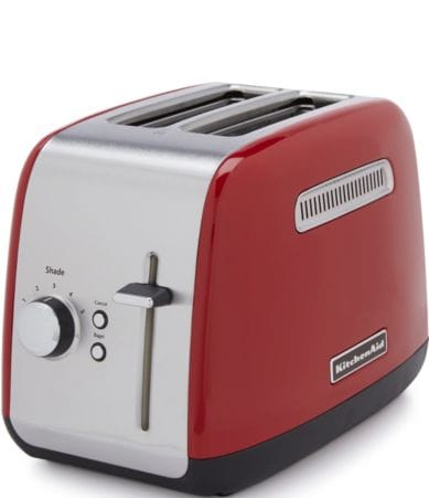 Kitchenaid 2 Slice Toaster With Manual Lift Lever Dillards