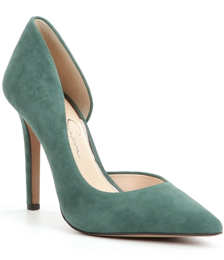 Jessica Simpson Claudette Pointed-Toe d´Orsay Pumps