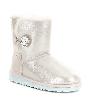 UGG® Disney Arendelle Girls´ Metallic Stone Button Sparkling Boots