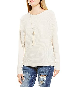 Chelsea & Violet Dolman Hi-Low Sweater