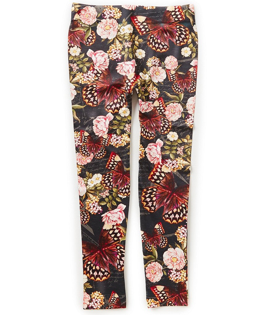 Jessica Simpson Big Girls 7-16 Floral Leggings