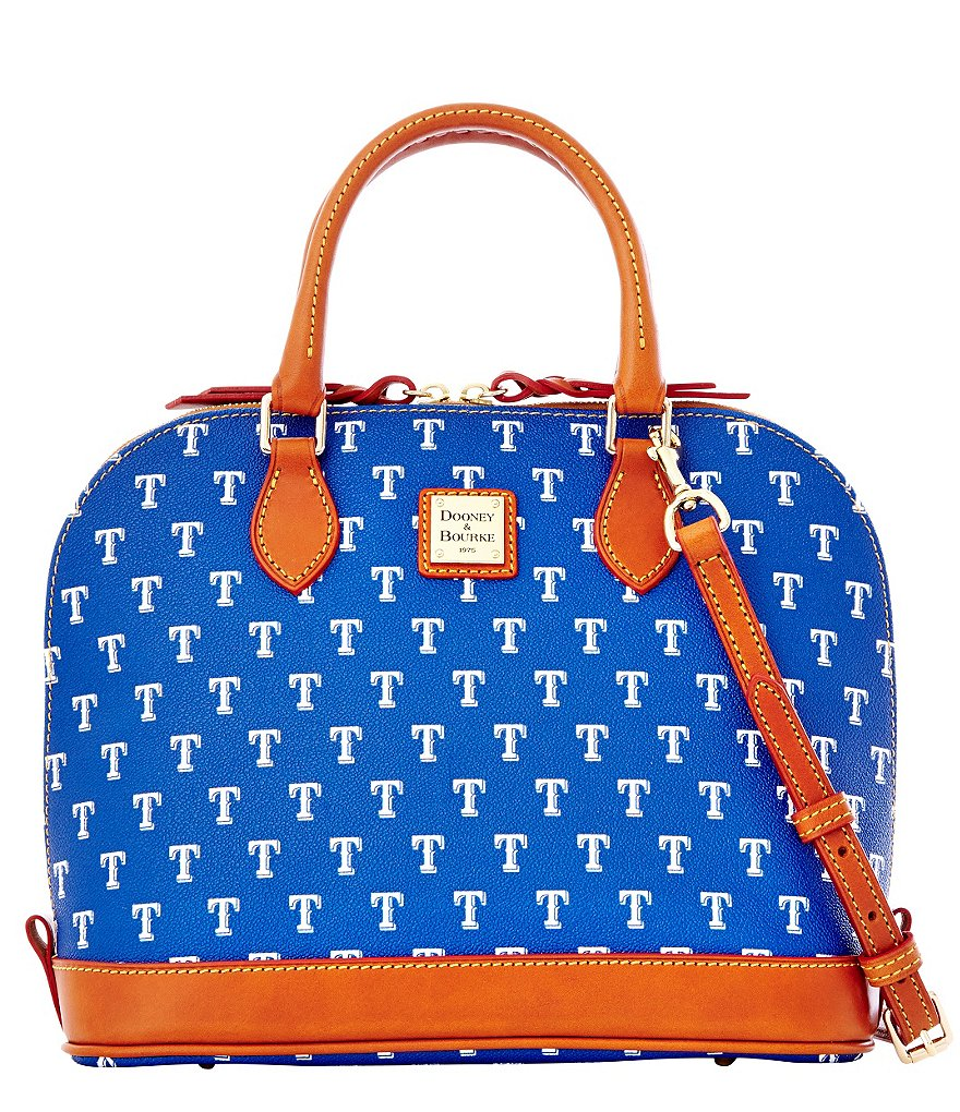 Dooney & Bourke MLB Collection Texas Rangers Zip Zip Satchel