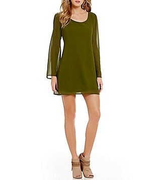 Soulmates Lattice Back Shift Dress
