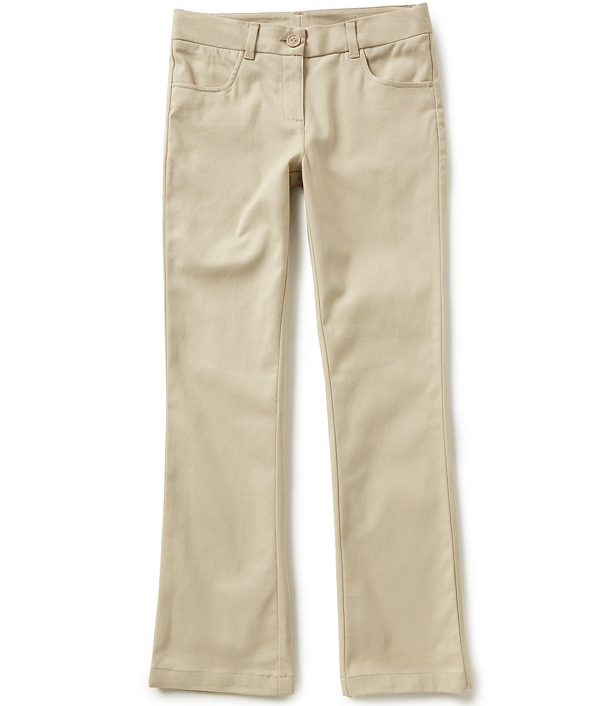 Nautica Big Girls 7-16 Stretch Twill Pants