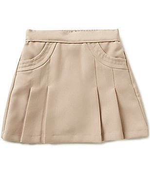 Nautica Big Girls 7-16 Pleated Skort