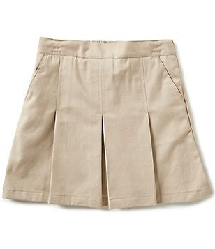 Nautica Big Girls 7-16 Twill Pleated Skort