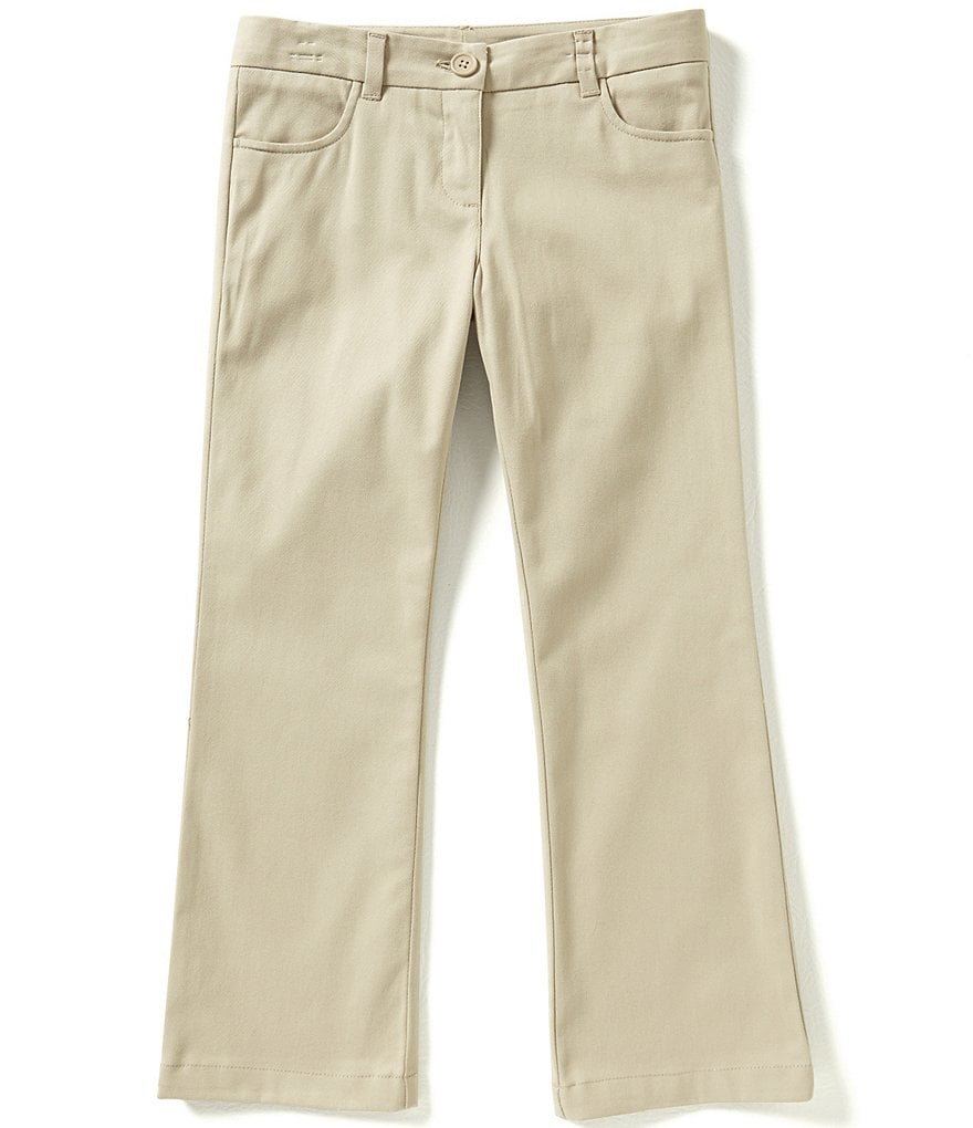 Nautica Little Girls 4-6X Twill Bootcut Pants