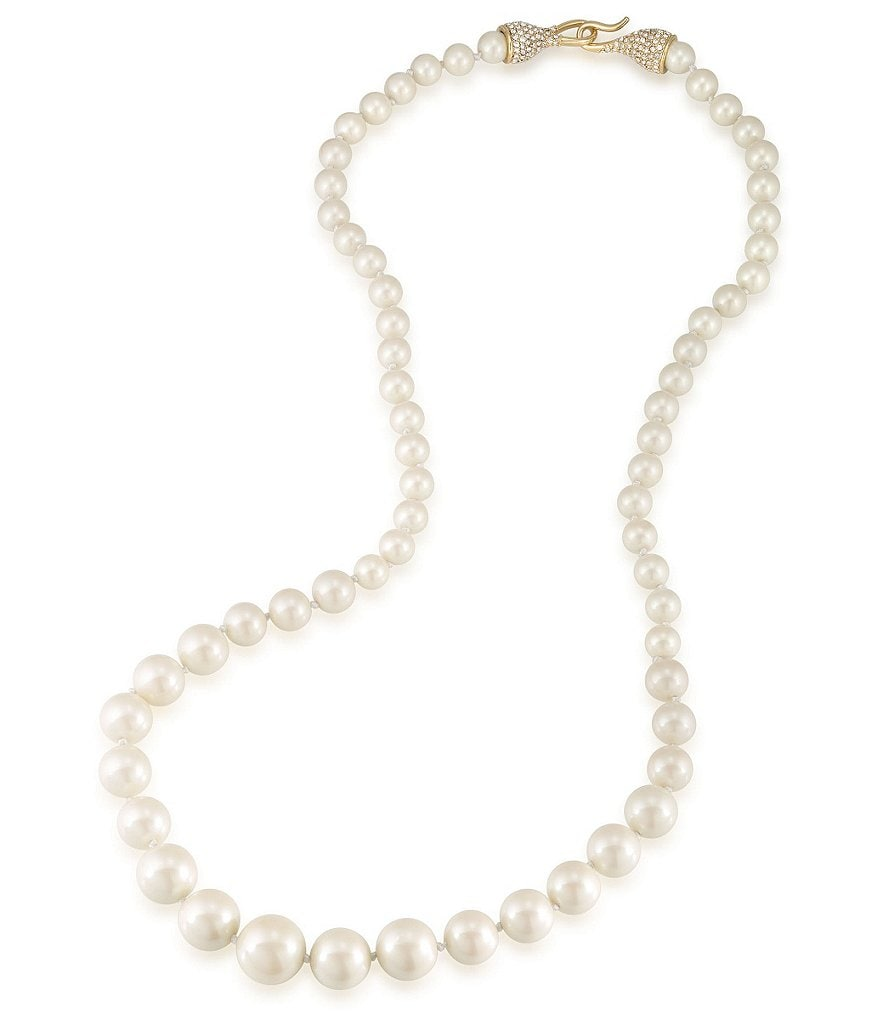 Carolee Union Square Faux-Pearl Necklace