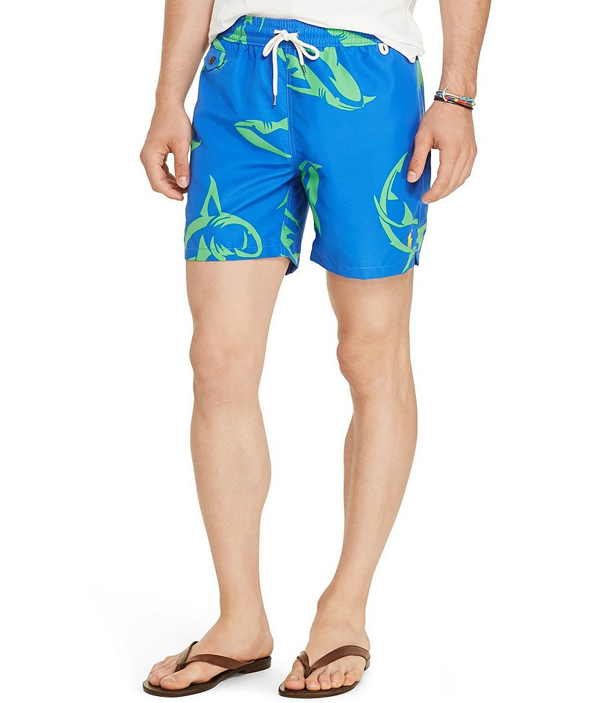 Polo Ralph Lauren Traveler Shark Swim Trunks