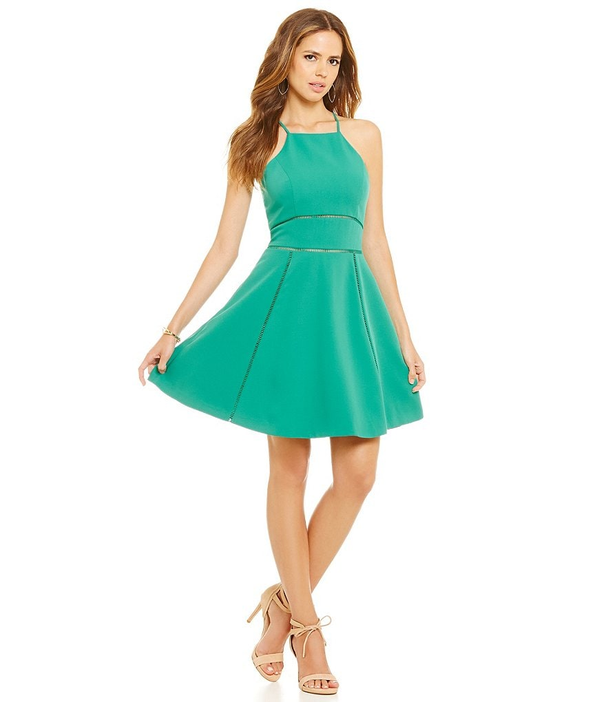 Gianni Bini Allie Apron Front Dress