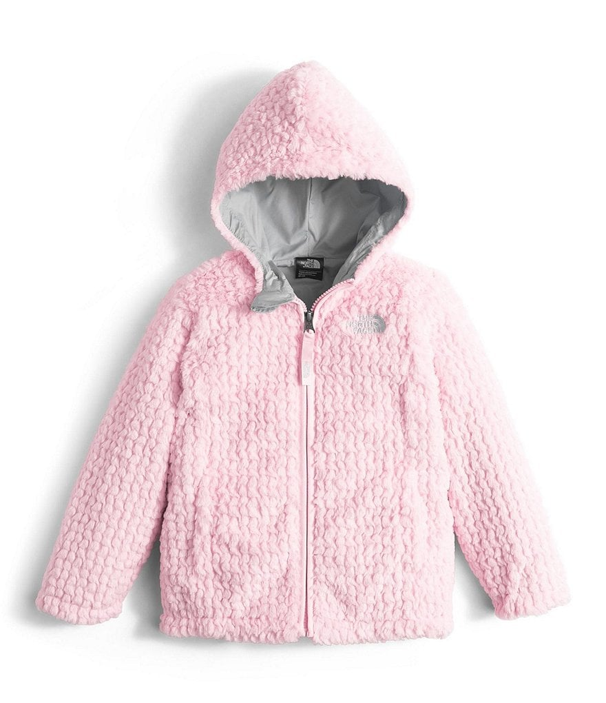 The North Face Little Girls 2T-4T Laurel Fleece Hoodie Jacket