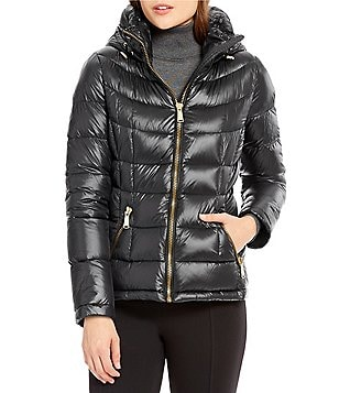 Calvin Klein Short Light Weight Packable Down Puffer Coat