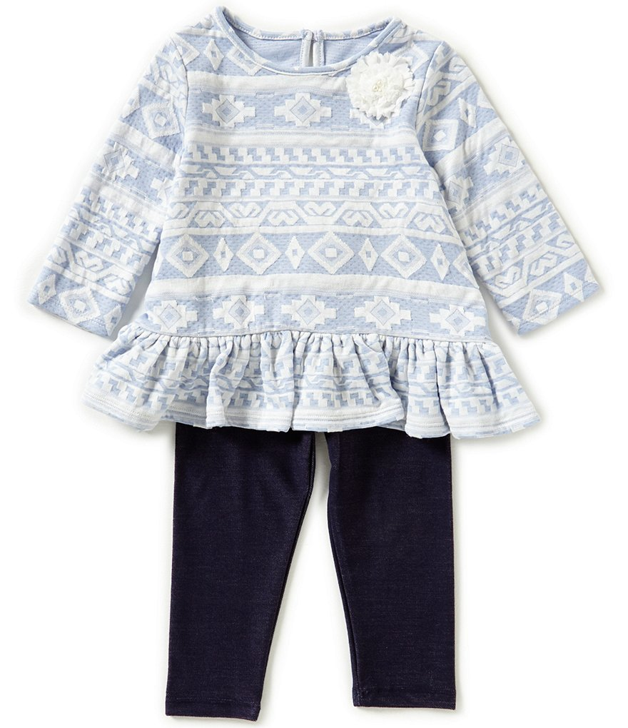 Marmellata Little Girls 2T-6X Tribal Top & Pants Set