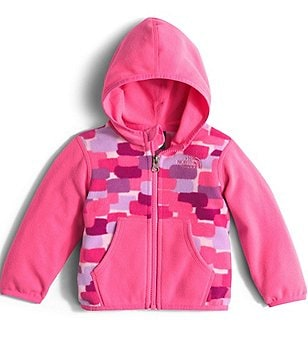 The North Face Baby Girls 3-24 Months Glacier Full-Zip Hoodie