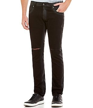 Guess Skinny Night Ride Knee Slit Jeans