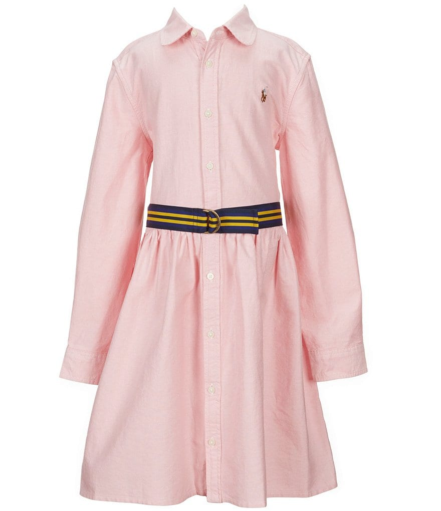 Ralph Lauren Childrenswear Little Girls 2T-6X Oxford Shirtdress