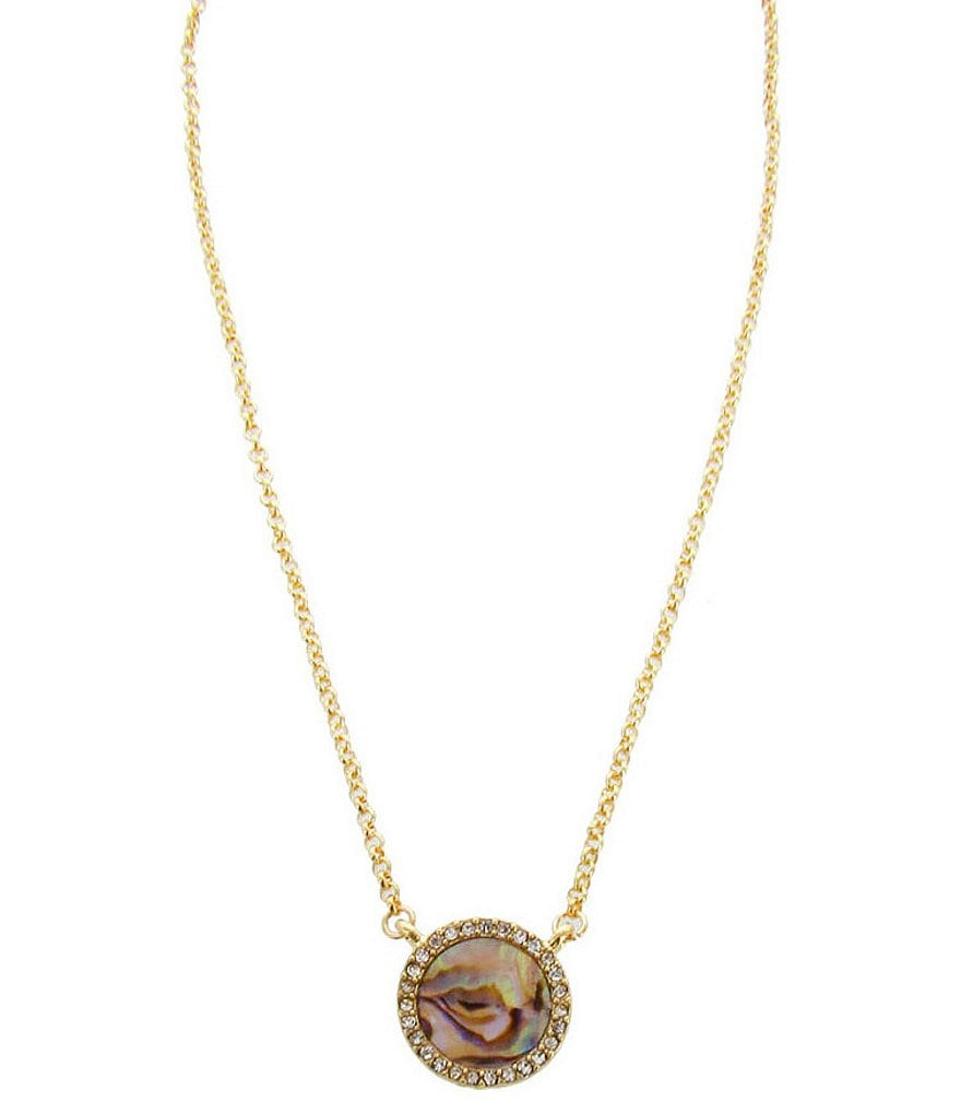 Panacea Abalone Shell Pendant Necklace
