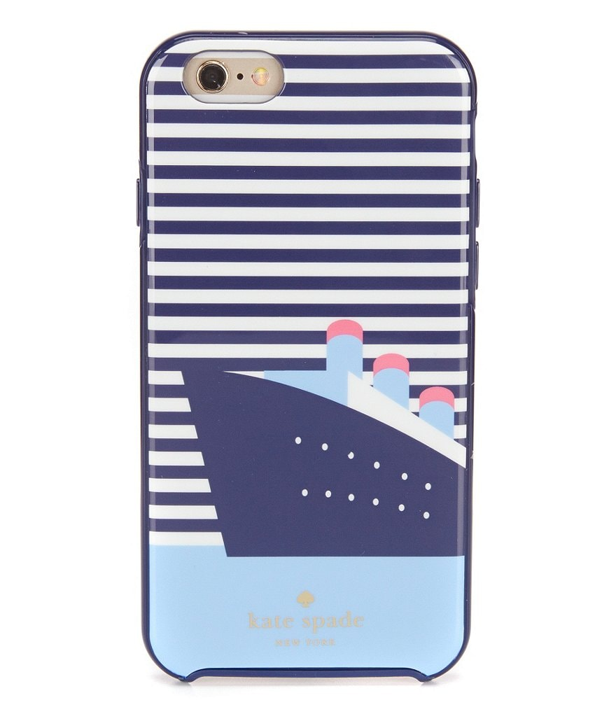 kate spade new york Striped Cruise Ship iPhone 6/6s Case