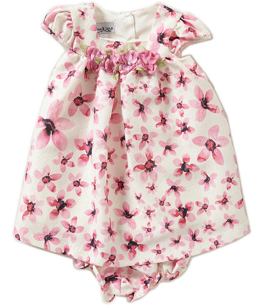 Pippa & Julie Baby Girls 12-24 Months Floral-Print Dress