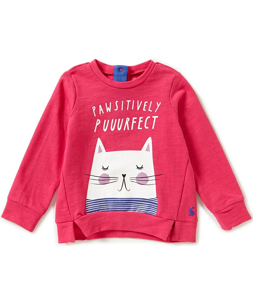 Joules Baby/Little Girls 12 Months-3T Mart Screenprint Sweatshirt