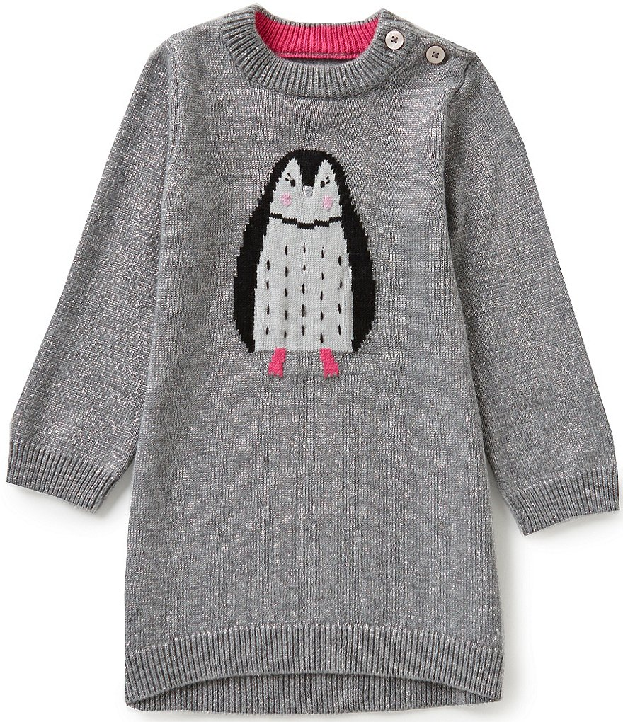 Joules Baby/Little Girls 12 Months-3T Intarsia Bunny Dress