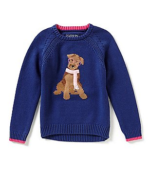 Joules Little Girls 3-6 Chrissie Intarsia Sweater