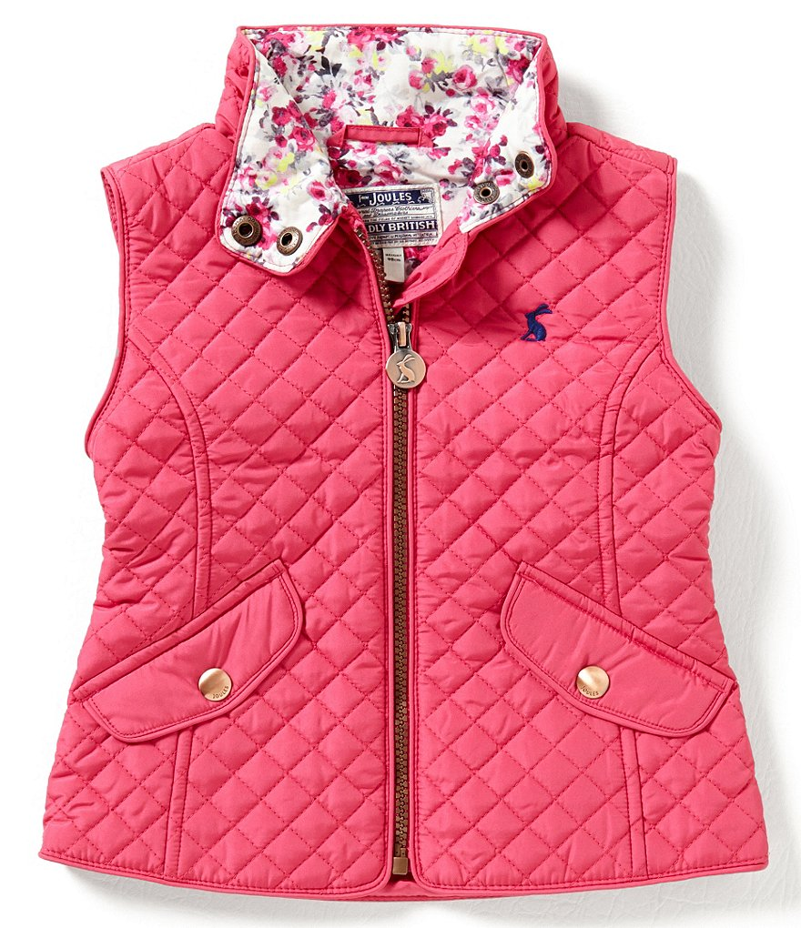 Joules Little Girls 3-6 Jilly Quilted Vest