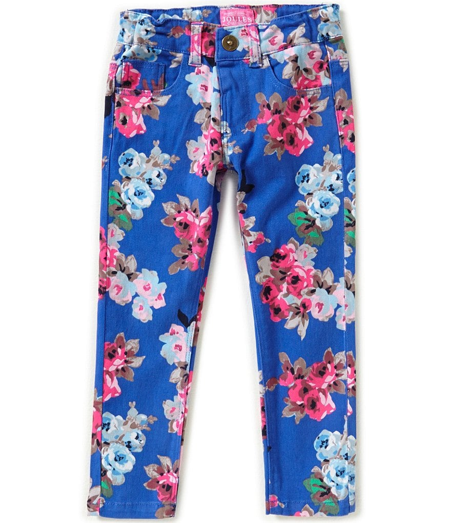 Joules Little Girls 3-6 Floral Leggings