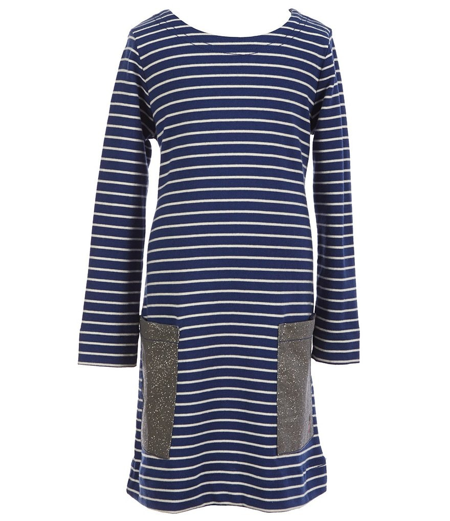 Joules Little Girls 3-6 Sadie Striped Jersey Dress