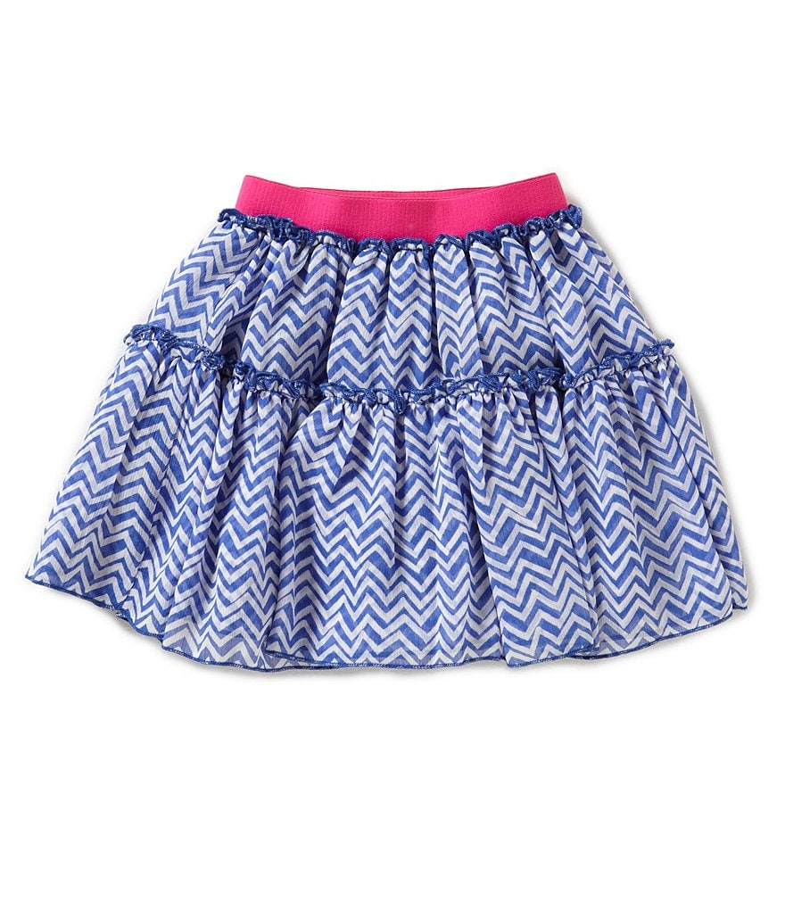 Joules Little Girls 3-6 Chevron Skirt