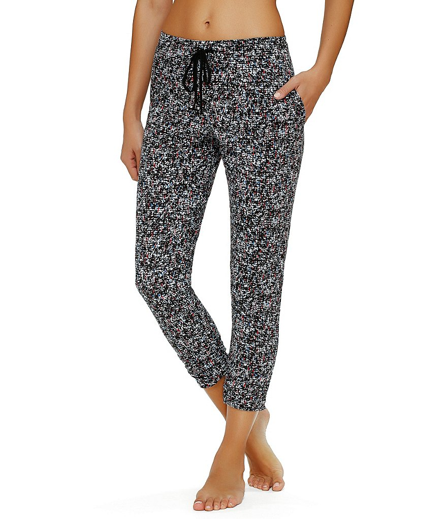 DKNY Modal Ruched Capri Leggings