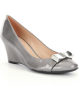 Antonio Melani Sterlang Patent Leather Wedges