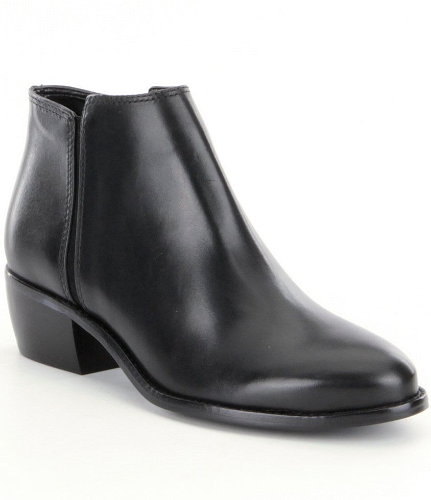 Antonio Melani Paxt Leather Casual Booties
