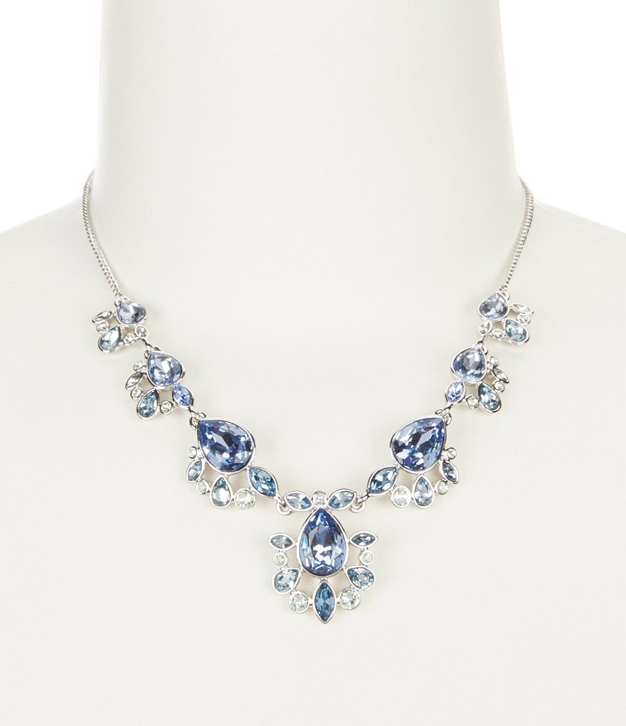 Givenchy Blue Frontal Necklace