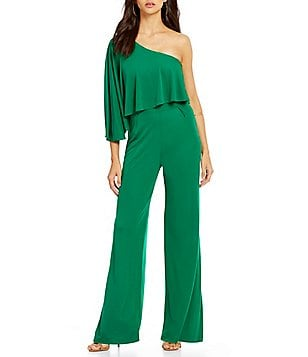 Trina Turk Dresses Applause One Sleeve Jumpsuit