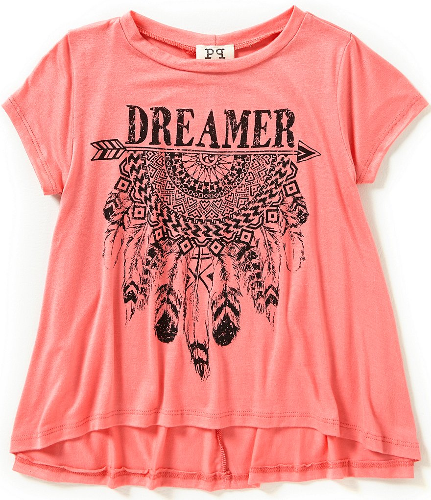 People´s Project LA Big Girls 7-16 Dreamer Swing Graphic Tee
